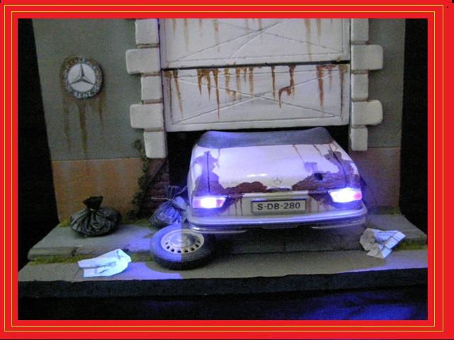 Mercedes dioramas voitures for Garage mercedes paris 11