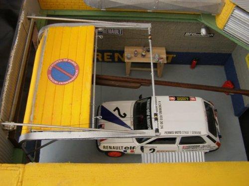 Renault dioramas voitures for Garage renault arcueil