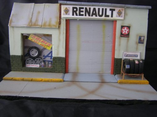 Renault dioramas voitures - Garage renault arcueil ...
