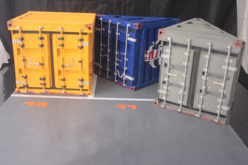 Divers dioramas voitures for Container garage voiture
